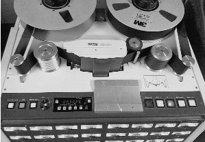 Analog 24-Track Tape recorder